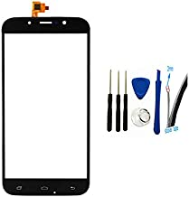 General Digitizer Touch Screen Glass Panel Cover Replacement for UMI Rome X (Black)