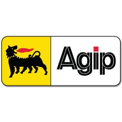 AGIP Racing Moto Motorcycle Vynil Car Sticker Decal - Select Size
