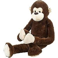 Heunec 331471 Misanimo - Mono de peluche (100 cm), color marrón