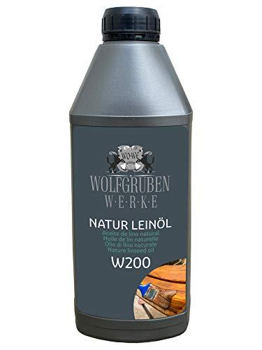 1L Natur Leinöl Holzöl Holzschutz Holzpflege Pflegeöl Holz ölen Eiche Buche u.a.