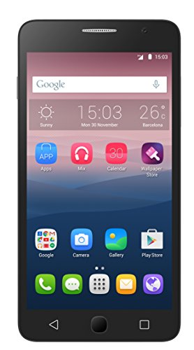 Alcatel 5022D-2AALWE1-1 Onetouch POP Star Smartphone (Dual SIM) Classy Pack