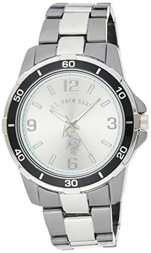 U.S. Polo Assn. Classic USC80300 Reloj de hombre con pantalla análoga de cuarzo en dos tonos