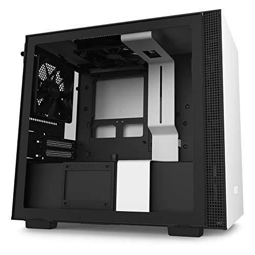 NZXT H210 mini-ITXケース [ White & Black ] CA-H210B-W1