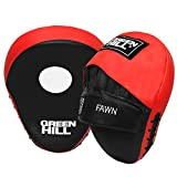 Green Hill Curved Fawn Focus Pads gebogen Fokus Pads, Punching Pads Stanzen Pads, Boxing Pads Boxen Polster,Boxpads for MMA Training Punch Target Ideal for Boxing, Training and Workouts -
