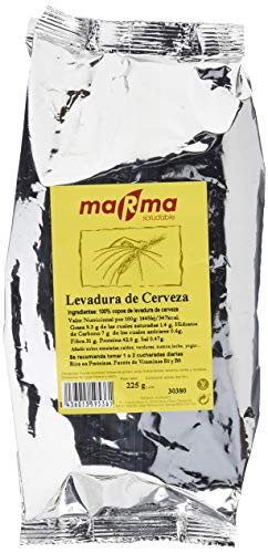 Bionsan Marma Levadura de Cerveza en Copos | 4 Bolsas de 225gr | Total 900gr