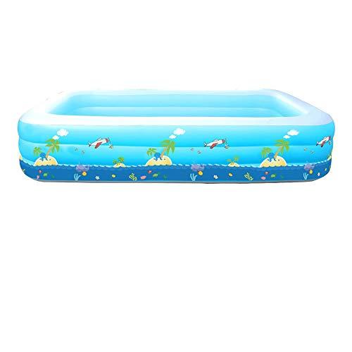 DYYD Piscina Inflable Blow Gruesa Bola Marina Resistente al Desgaste hasta Piscina for los niños, for los Deportes acuáticos Fiesta Familiar