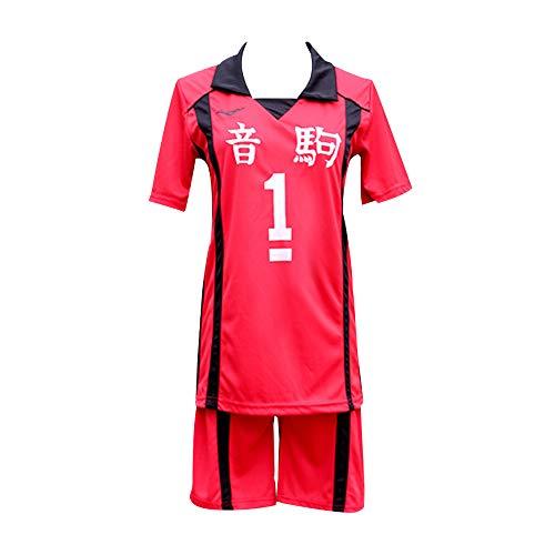 KINOMOTO Haikyuu!! Nekoma High School Uniform No. 1 Tetsurou Kuroo Cosplay Costume Sportswear