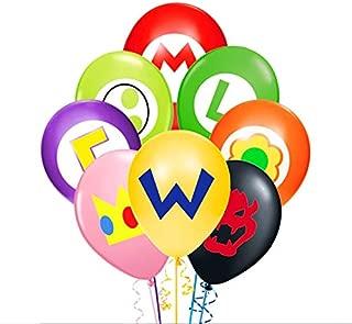 Merchant Medley 24pc Super Mario-Inspired Balloons - Large 12