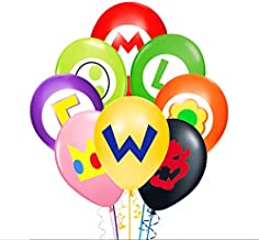 Merchant Medley 24pc Super Mario-Inspired Balloons - Large 12