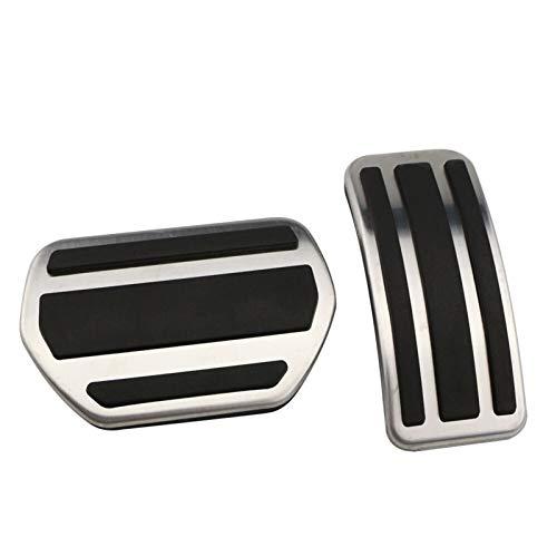 ZHANGWUNIU WUZ Store Accesorio de Acceso a Pedal Modificado Pedal Placa Fit para Peugeot 207 301 307 208 2008 308 408 Fit para Citroen C3 C4 Fit para DS 3 4 6 DS3 DS4 DS6 (Color Name : AT)