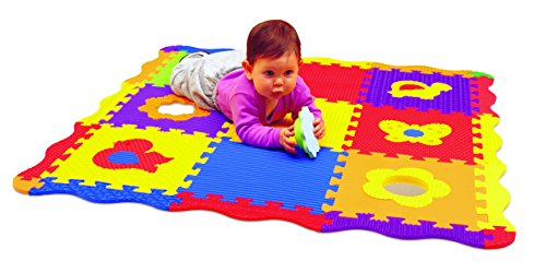 Edushape 25 Piece 40'x40' Play & Sound Mat by Edushape