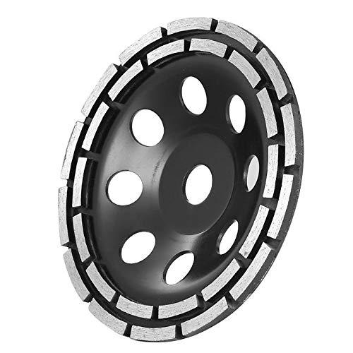CLJ-LJ Disco de rueda de diamante de 115/125/180 mm, doble fila, piedra de ladrillo, amoladora de azulejos de ladrillo (diámetro exterior: 180 mm)