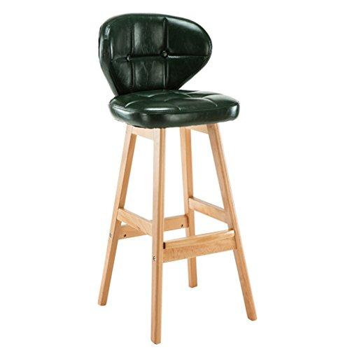 WXYXG Taburetes de bar, De madera maciza silla de bar de la vendimia silla de bar de la silla Continental de alta taburete de madera moderna simple sillón (Color: #5)