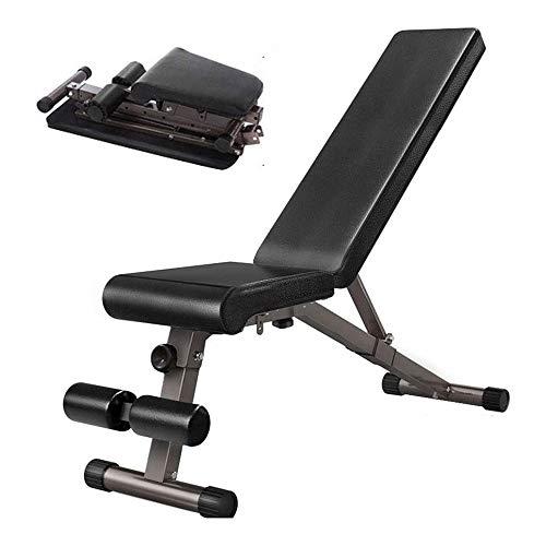 Fitness Chair Folding Hantel Hocker Startseite Bank Bank Sit Ups Multifunktionale Abs Fitness Equipment Versprechen glatt und kein Schütteln, Leder ist geschmacksneutral und umweltfreundlich