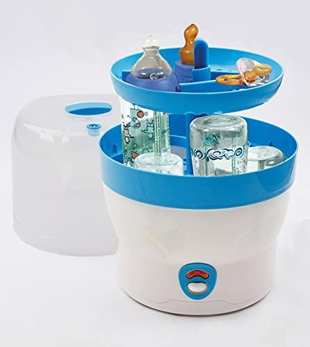 H+H BS 29b Babyflaschen-Sterilisator für 6 Flaschen in blau - 3