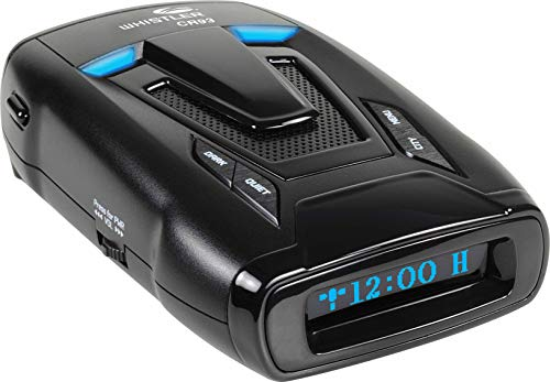 Lowest Prices! Whistler CR93 High Performance Laser Radar Detector: 360 Degree Protection, Bilingual...