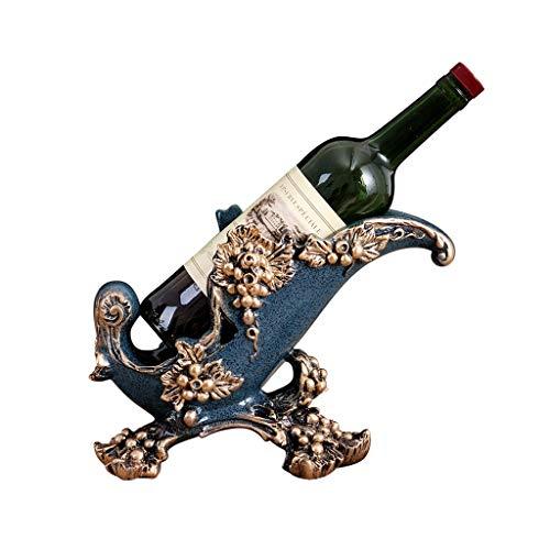 Botellero De Gama Alta Personalizada Muebles Vino Estante del Vino de Lujo Estante de la Botella de Vino Regalos Estante Interior de la casa Decoración Vino Estante