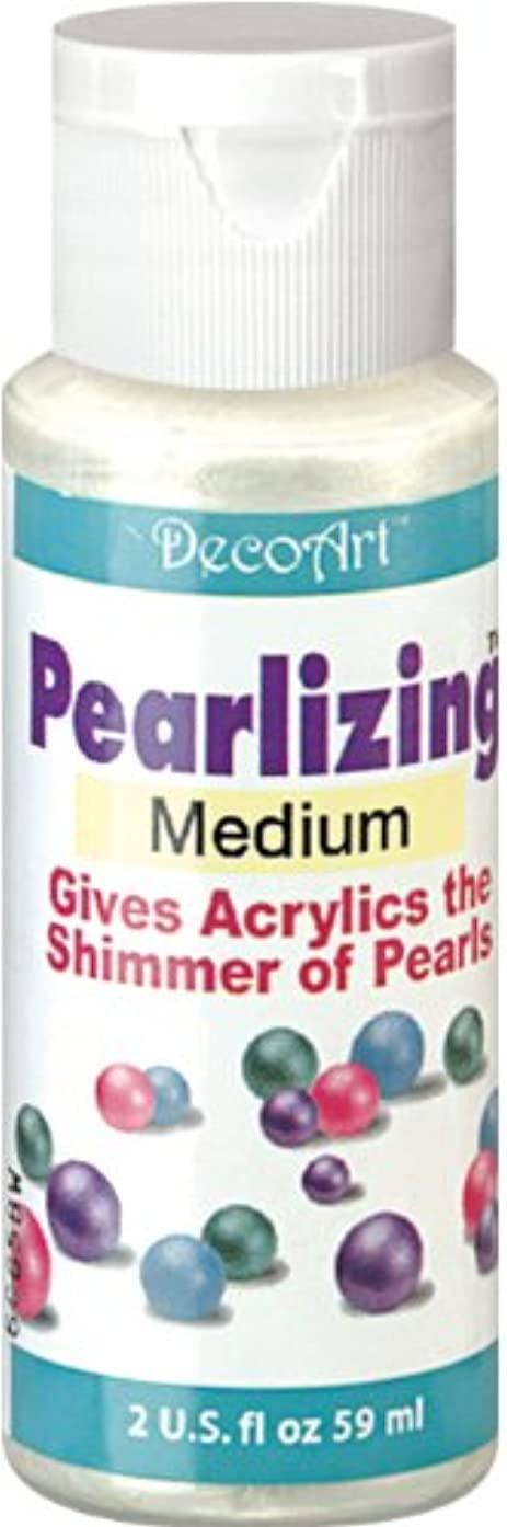 DecoArt DS48-3 Americana Pearlizing Mediums Paint, 2-Ounce