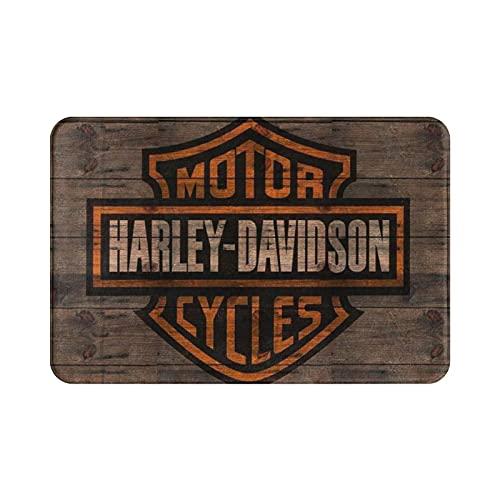 Zerbino in stile Harley Davidson, per interni e ingressi, bagno, cucina e soggiorno, camera da letto.