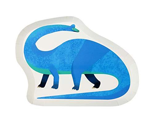 Dinosaur Shaped Plate 12Pk