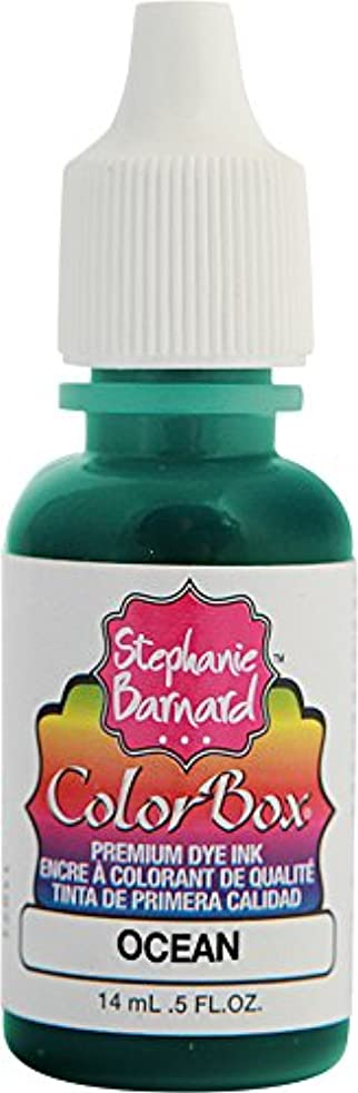 Clearsnap Holding ColorBox Premium Dye Ink by Stephanie Barnard Refill 0.5 Fluid oz. Bottle, Ocean, fl