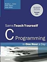 Sams Teach Yourself C Programming in One Hour a Day