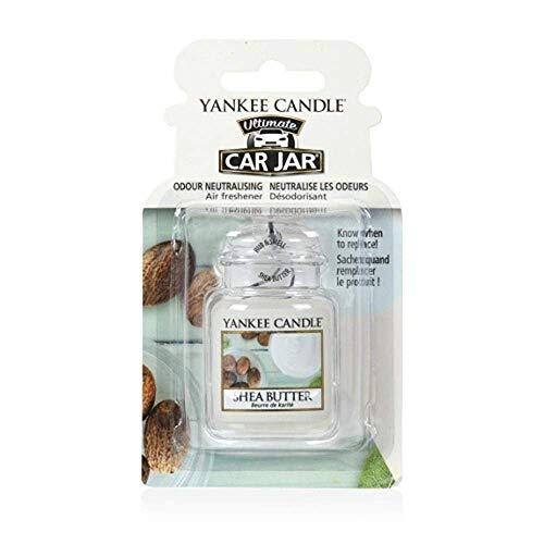Yankee Candle 1521600E Deodoranti per Auto, Car Vaso Ultimate, Shea Butter