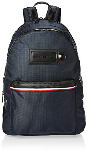 Tommy Hilfiger Modern Nylon Backpack, Herren Schultertasche, Mehrfarbig (Sky Captain), 12.5x46x31.5 cm (W x H L)