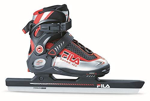 Fila Wizy Ice Speed Eisschnelllauf-Schlittschuhe (verstellbar) für Kinder