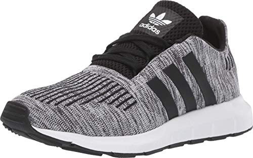 adidas Originals Kids' Swift Run Sneaker, White/Black/Black