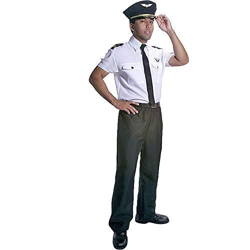 Dress Up America Deluxe Pilotenkostüm für Erwachsene