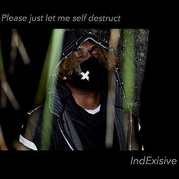 Please Just Let Me Self Destruct (feat. Ivri)