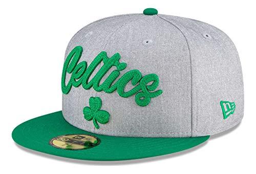 New Era - Berretto NBA Boston Celtics 2020 Draft Edition 59Fifty Fitted Cap - Grigio-Verde grigio-verde 57