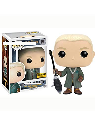 ZCBHSD Quidditch Draco Malfoy (Harry Potter) ¡Funko Pop!