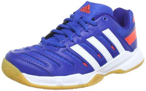 adidas Essence 10.1 Q35128 Herren Handballschuhe, Blau (blue beauty f10 / running white ftw / infrared), EU 38 (UK 5)
