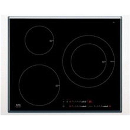 AEG HK633220FB - plaques (Intégré, Céramique, verre-céramique, Noir, senseur, En haut à droite)