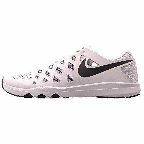 NIKE Men's Train Speed 4 Training Shoe (White/Black, 15 D(M) US)