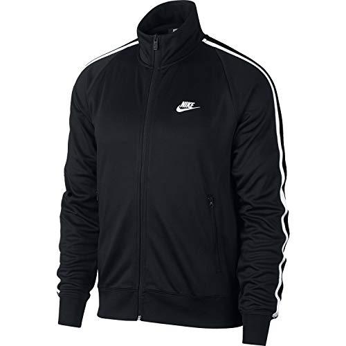 Nike He Jacket N98 Tribute, Giacca Sportiva Uomo, Black/White, XL