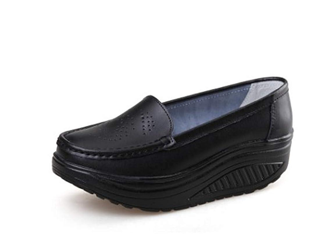 二層電話をかける三十ダイエットシューズ 船型底 ナースシューズ レディース ウォーキングシューズ 5CM 厚底スニーカー 姿勢矯正 看護師 作業靴 安全靴 作業靴 軽量 歩きやすい 疲れない 婦人靴 厚底シューズ