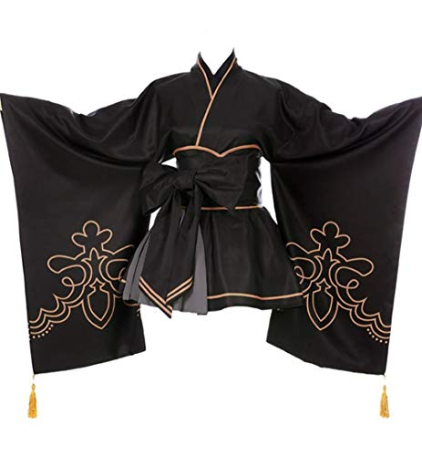 Costumes Kimono for 2B Cosplay Custom