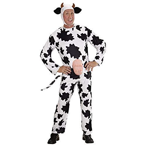 Widmann - Cs923521/l - Costume Vache Taille L, Noir/Blanc