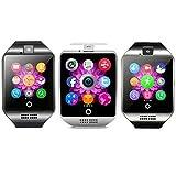 FOSTE Smartwatch | Teléfono de Pulsera | Bluetooth Smart Watch Pantalla Táctil | Reloj Inteligente | Reloj Cámara | Reloj Teléfono Incorporado