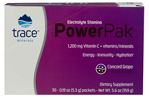 41LYYQ6v2pL - Trace Minerals Research Liquimins 1200 mg Concord Grape Vitamin C Electrolyte Stamina Power Pack