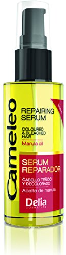 Cameleo Marula Oil Leave-in Repairing Serum for Coloured & Bleached Hair - 55ml by Delia Cosmetics