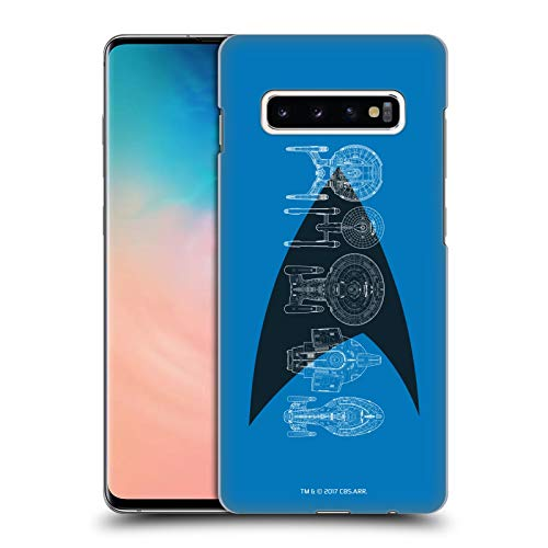 Head Case Designs Officially Licensed Star Trek Delta Complete Ships of The Line Hard Back Case Compatible with Samsung Galaxy S10+ / S10 Plus