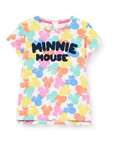 ZIPPY Camiseta Minnie de bebé niña SS20, Cloud Dancer 11/4201 TC, 18/24M para Bebés