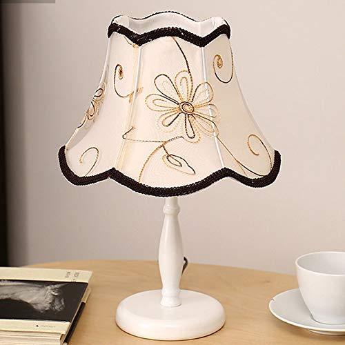 Lfixhssf minimalistische Europese LED stof moderne tafellamp tuin slaapkamer romantische bruiloft in de slaapkamer creatieve bedlampje dimbaar Lfixhssf
