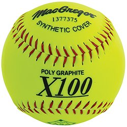 """MacGregor X52RE ASA Slow Pitch 12"""" Softball - Synt"""