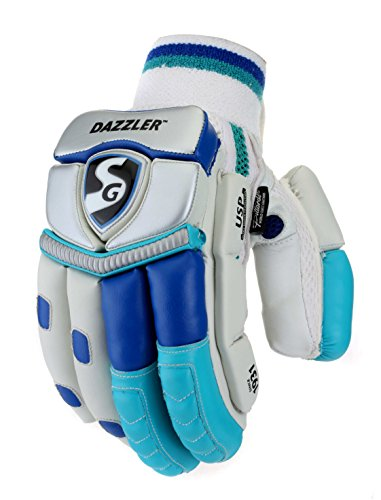 SG Dazzler RH Batting Gloves, Adult (Color May Vary)