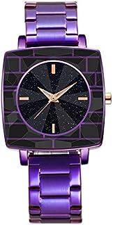 Xieifuxixxxnssb men's wrist watches New Style Fashion Women's Watches Unisex Ladies Dress Quartz Clock Square Dial Wrist W...